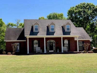 Prattville Single Family Home For Sale: 1607 Clear Creek Drive