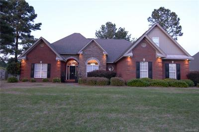 Wetumpka Single Family Home For Sale: 117 Walnut Point Drive
