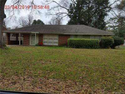 Montgomery Single Family Home For Sale: 2817 Sumter Avenue