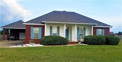 Deatsville Single Family Home For Sale: 160 Carls Drive
