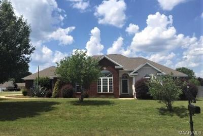 Deatsville Single Family Home For Sale: 89 Sunset Drive