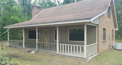 Deatsville Single Family Home For Sale: 57 Blackberry Road
