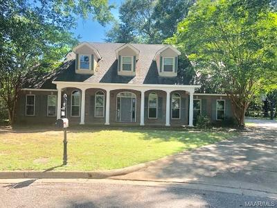 Prattville Single Family Home For Sale: 105 Poplar Court