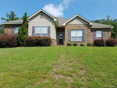 Wetumpka Single Family Home For Sale: 67 Woodhaven Lane