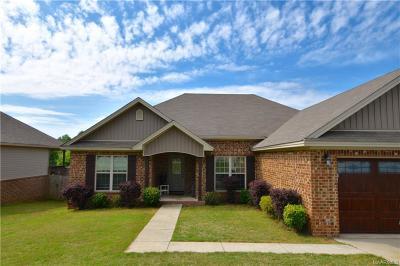 Wetumpka Single Family Home For Sale: 149 Serene Lane