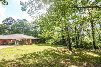 Wetumpka Single Family Home For Sale: 868 Hidden Forest Trail