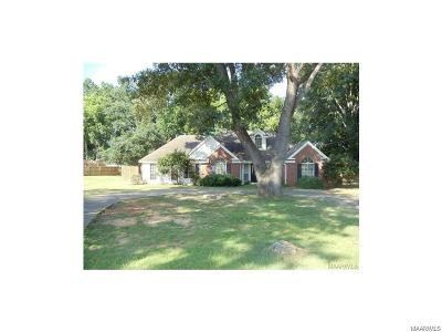 Deatsville Single Family Home For Sale: 2 Wesley Drive