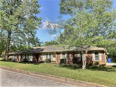 Prattville Single Family Home For Sale: 598 Marlyn Drive