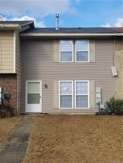Montgomery Rental For Rent: 1245 Seth Johnson Drive