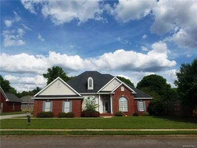 Prattville Single Family Home For Sale: 135 Shady Oak Lane