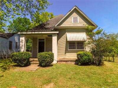 Montgomery Single Family Home For Sale: 343 Buford Street