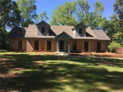 Prattville Single Family Home For Sale: 470 Pinecrest Drive