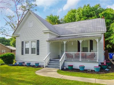 Single Family Home For Sale: 715 Wetumpka Street