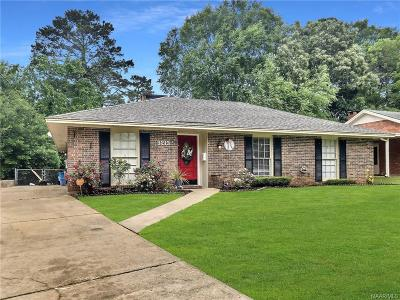 Montgomery Single Family Home For Sale: 3213 Little John Drive