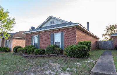 Prattville Single Family Home For Sale: 511 Sheila Boulevard