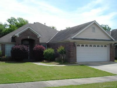 Montgomery Single Family Home For Sale: 3860 Claiborne Circle