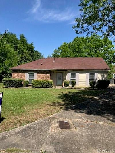 Montgomery Single Family Home For Sale: 6131 Greta Place