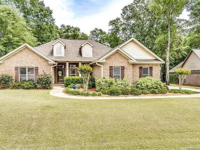 Wetumpka Single Family Home For Sale: 209 Maplewood Drive