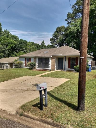 Prattville Single Family Home For Sale: 422 Oregon Court