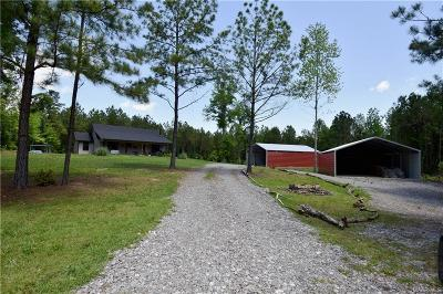 Single Family Home For Sale: 2058 Coosa County Road 91 Road