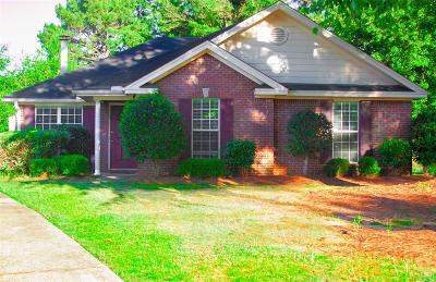 Montgomery Single Family Home For Sale: 1306 Karen Valley Place