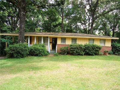 Montgomery Single Family Home For Sale: 3670 Windemere Drive