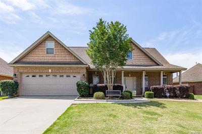Prattville Single Family Home For Sale: 1516 Trolley Road