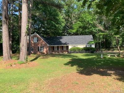 Wetumpka Single Family Home For Sale: 302 Old Jasmine Hill Road