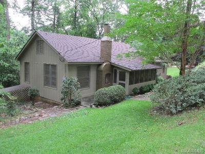 Wetumpka Single Family Home For Sale: 53 Lake Region Lane