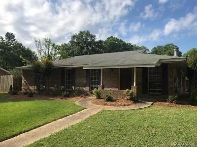 Montgomery Single Family Home For Sale: 4246 Ray Drive