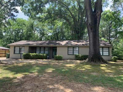 Montgomery Single Family Home For Sale: 3616 Cloverdale Road