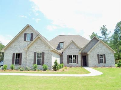 Wetumpka Single Family Home For Sale: 52 Southern Oak Lane