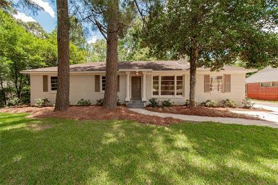 Montgomery Single Family Home For Sale: 3016 Biltmore Avenue