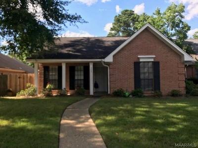 Montgomery AL Single Family Home For Sale: $149,000