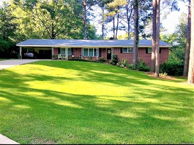 Montgomery Single Family Home For Sale: 3703 Lewis Lane