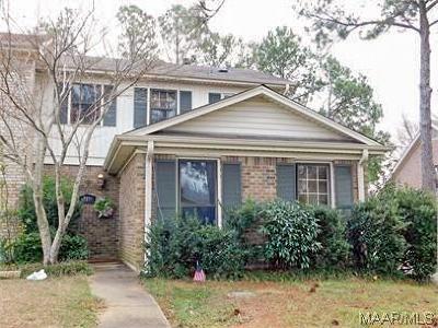 Montgomery AL Condo/Townhouse For Sale: $65,000