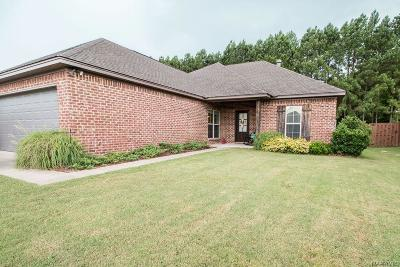Wetumpka Single Family Home For Sale: 152 Hearth Haven Drive
