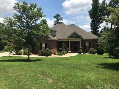 Wetumpka Single Family Home For Sale: 15 Timberland Pass