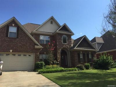 Prattville Single Family Home For Sale: 1520 Trolley Road