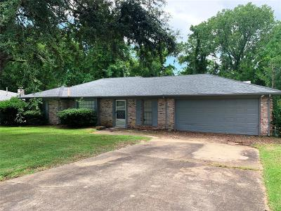 Montgomery Single Family Home For Sale: 1836 Alderpoint Drive