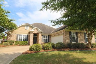Montgomery Single Family Home For Sale: 8828 Lillington Circle