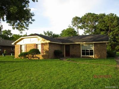 Montgomery Single Family Home For Sale: 329 Eagerton Road