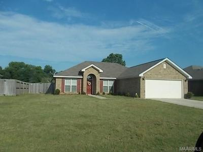 Prattville Single Family Home For Sale: 1613 Buena Vista Boulevard