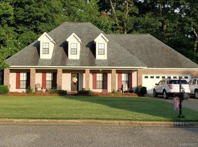 Prattville Single Family Home For Sale: 1682 Rambling Brook Lane