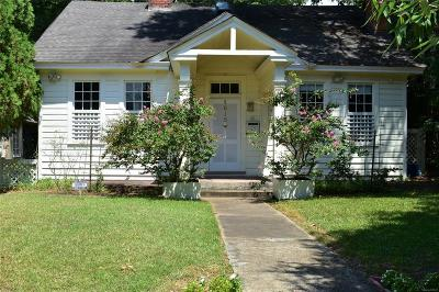 Montgomery Single Family Home For Sale: 1615 S Court Street