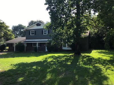 Montgomery Single Family Home For Sale: 108 Miller Lane