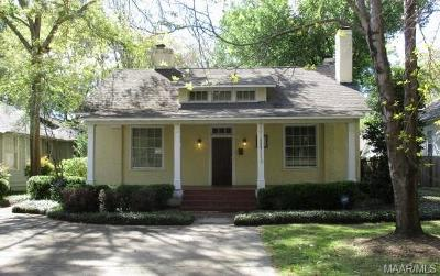 Montgomery Single Family Home For Sale: 908 Cloverdale Road