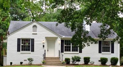 Montgomery Single Family Home For Sale: 3143 Gilmer Avenue