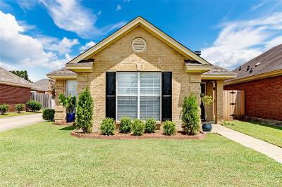 Montgomery Single Family Home For Sale: 8745 Hallwood Drive