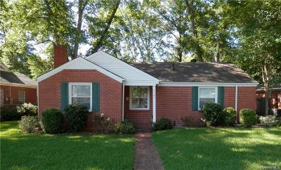 Montgomery Single Family Home For Sale: 4161 Hickory Drive